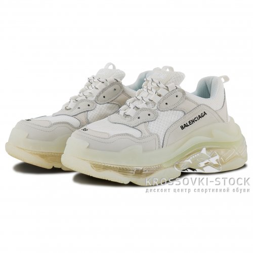 Женские Balenciaga Triple S White