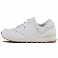 Унисекс New Balance 574 All White