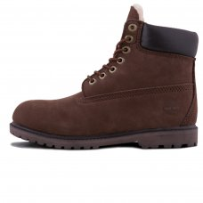 Унисекс Timberland 10061 Dark Brow/Black With Fur