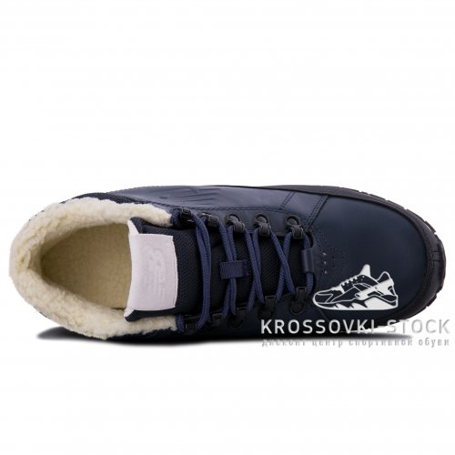 Зимние New Balance 754 Dark Blue With Fur