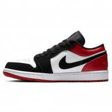 Унисекс Nike Air Jordan 1 Retro Low Black/Red