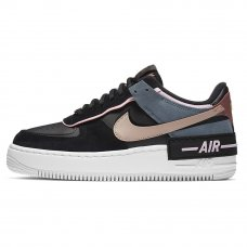 Женские Nike Air Force 1 Shadow Black/Bronze/Arctic Pink