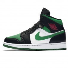 Унисекс Nike Air Jordan 1 Retro Mid Green Toe