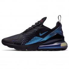 Унисекс Nike Air Max 270 Black/Laser Fuchsia/Regency Purple