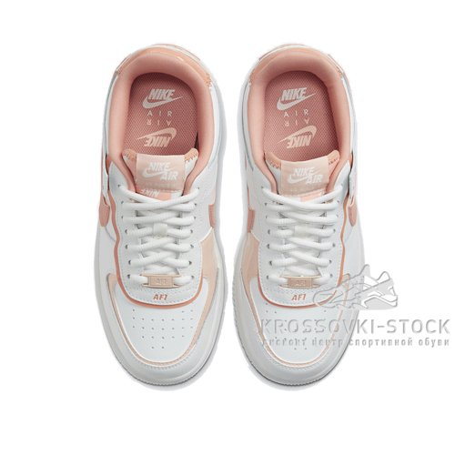 Женские Nike Air Force 1 Shadow White/Pink