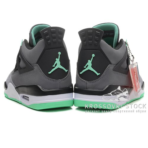 Унисекс Nike Air Jordan 4 Retro Green Glow