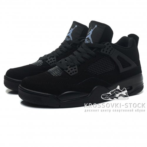 Унисекс Nike Air Jordan 4 Retro All Black
