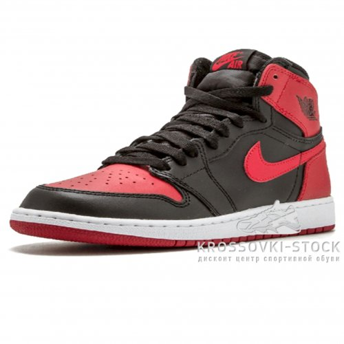 Унисекс Nike Air Jordan 1 Retro Red/Black