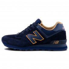 Унисекс New Balance 574 Dark Blue/Brown