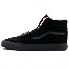Фотография 1 Зимние Vans Old Skool High All Black With Fur
