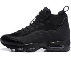 Мужские Nike Air Max 95 SneakerBoot Mid Black