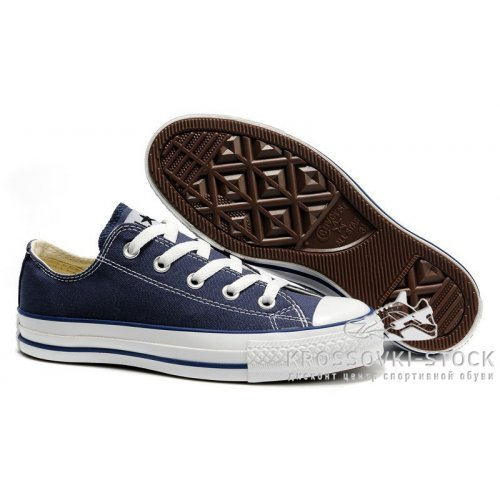 Унисекс Converse All Star Chuck Taylor Low Blue