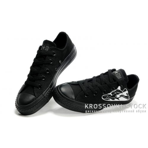 Унисекс Converse All Star Chuck Taylor Low Black